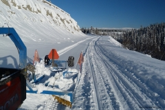Grooming the Copper Haul Trail - November 2020