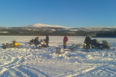 K.S.A. Ice Fishing Day - January 2017