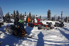 Dawson City Sled Dawgs out for a ride - February 2019