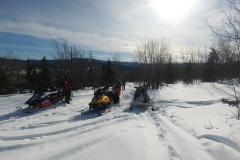 K.S.A. Members out for a ride near Division Mountain - March 2020