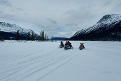 K.S.A. Members riding out to 37 Mile Lake - January 2021