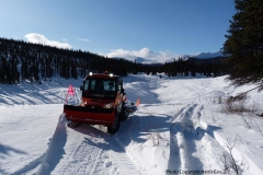 Grooming the Jackson Lake Trail - February 2020