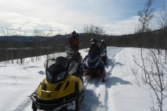 K.S.A. Members enjoying the snowmobiling season - March 2020.