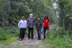 K.S.A. summer trail maintenance crew - August 2017