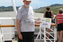 K.S.A. license plate on vacation in the Panama Canal  -  October 2011