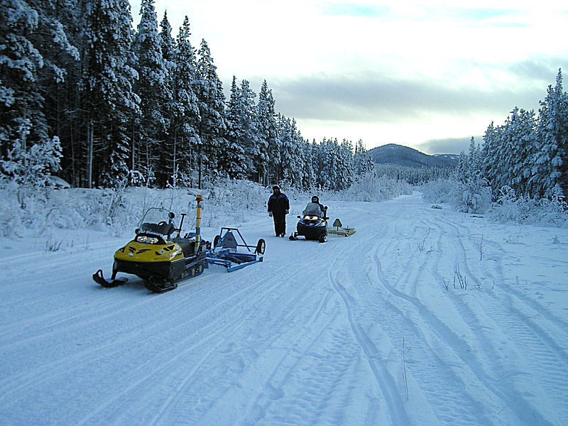 Grooming the trails