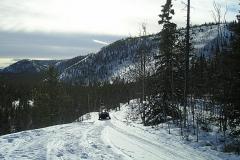 Dawson Overland Trail - March 2005