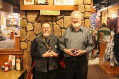 Two of our hardest working volunteers awarded - December 2012