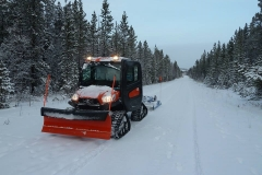 Our new groomer in action - November 2017