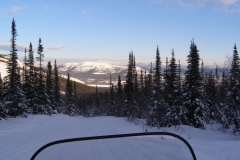 Looking down towards Whitehorse from Mt McIntyre trail - January 2007