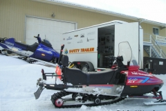 K.S.A. Safety Trailer at the 2005 Charity Poker Run  -  March 2005